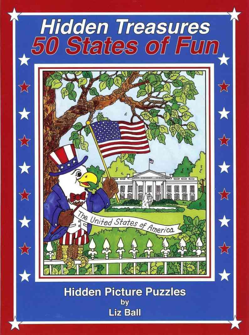 50 States of Fun - Hidden Treasures By Ball, Liz